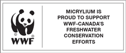 Micrylium is proud to support WWF-Canada's freshwater conservation efforts.